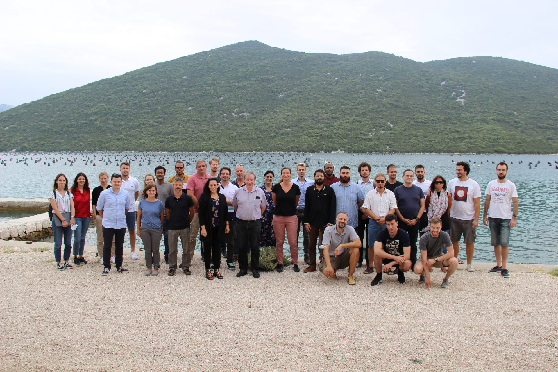 The H2020-SeaClear meeting and testing in Dubrovnik